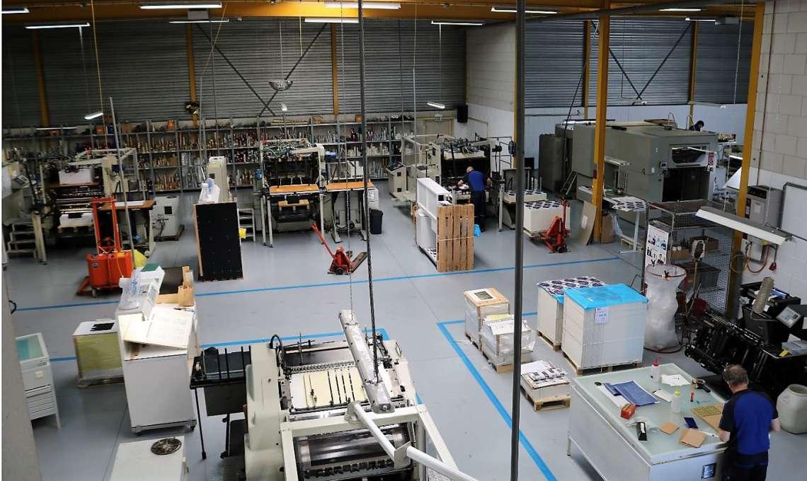 Hensen Foliedrukkers machinepark